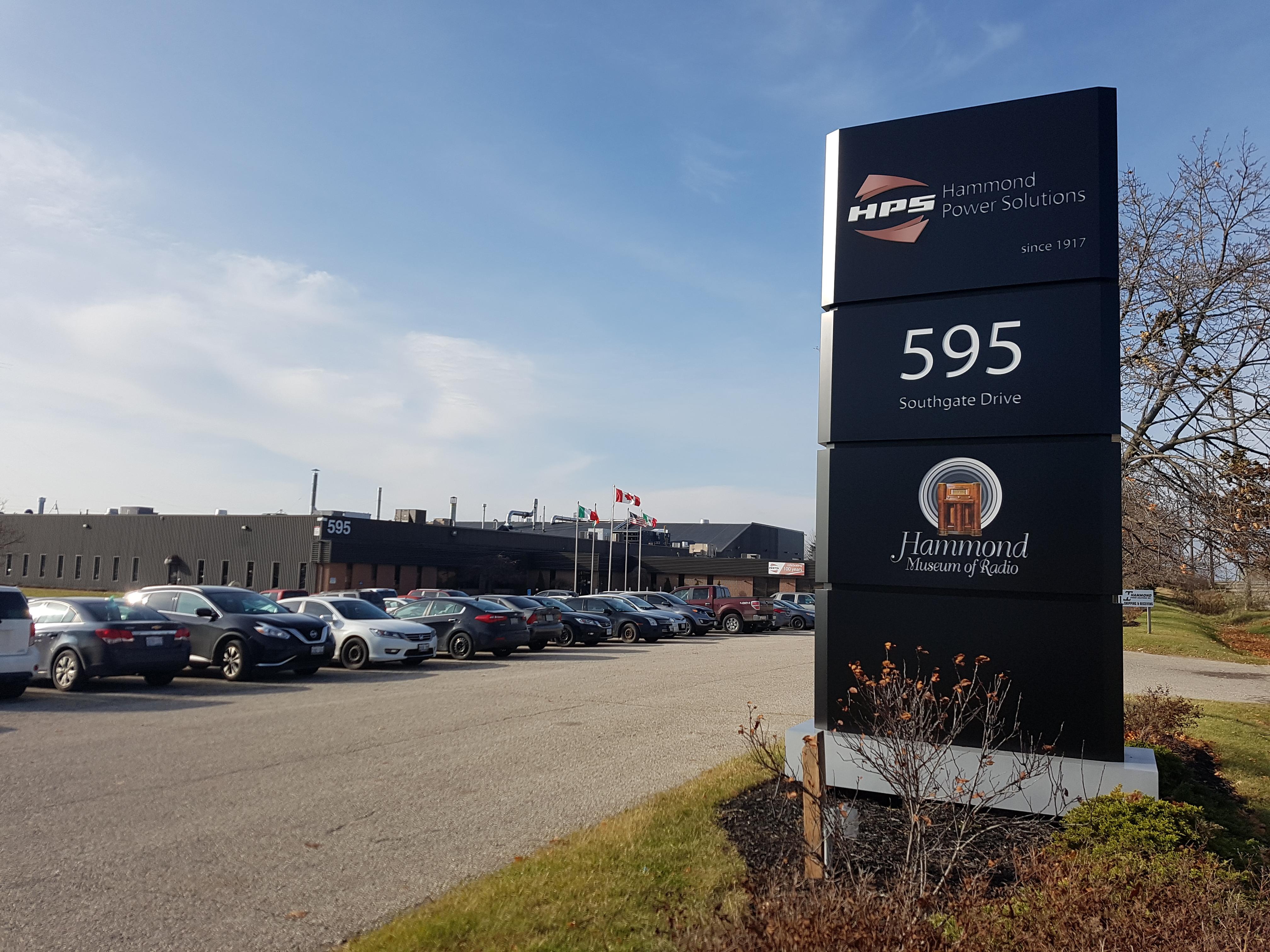 Guelph Facility entrance