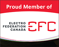 Proud Member of Electro Federation Canada logo