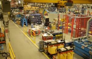 Hammond Power Solutions plant floor